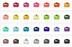 MOVband Band Colors